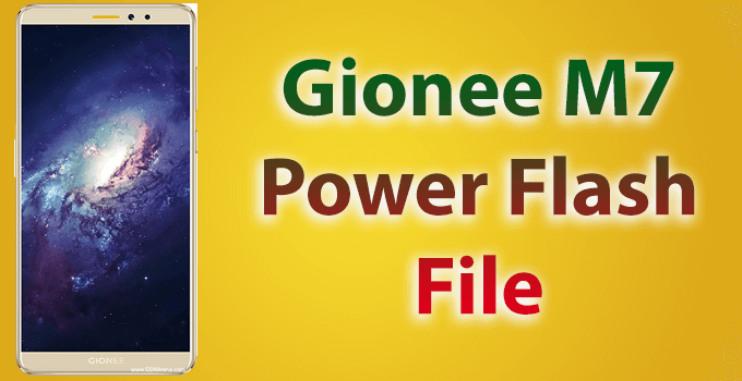 gionee m7 flash file