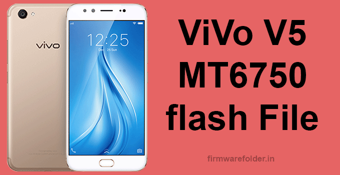 vivo v5 flash file