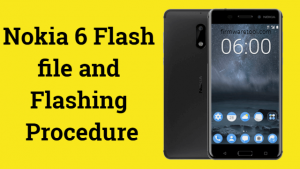 Nokia 6 flash File free download and flashing procedure